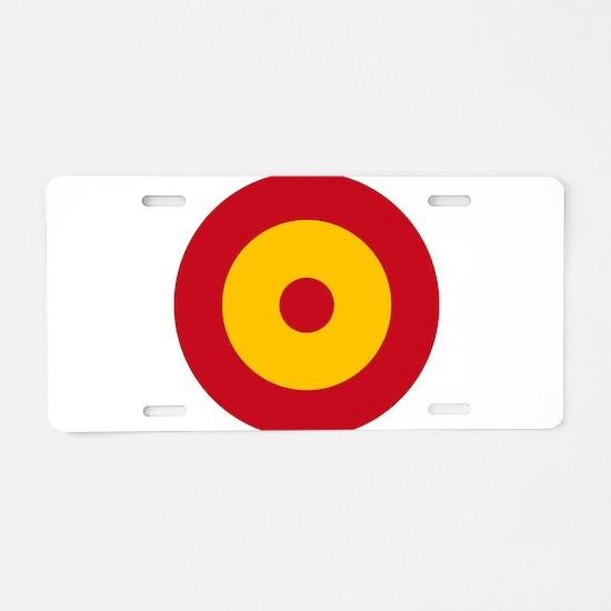 Spain Roundel Aluminum License Plate