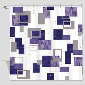 Makanahele Mid Century Modern 11 Shower Curtain
