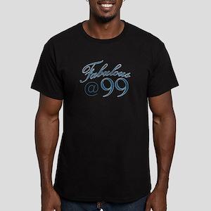 Fabulous at 99 Men's Fitted T-Shirt (dark)