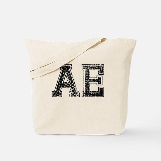 AE, Vintage Tote Bag