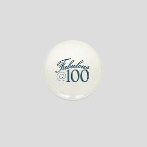 Fabulous at 100 Mini Button