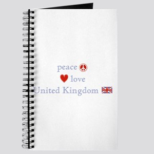 Peace Love & United Kingdom Journal