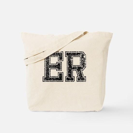 ER, Vintage Tote Bag