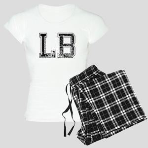 LB, Vintage Women's Light Pajamas