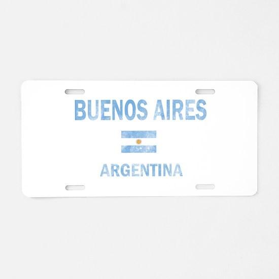 Buenos Aires, Argentina Designs Aluminum License P