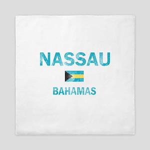 Nassau, Bahamas Designs Queen Duvet