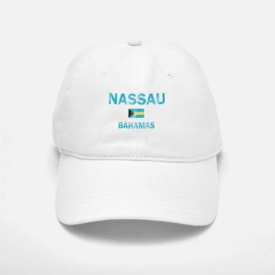 Nassau, Bahamas Designs Baseball Baseball Cap