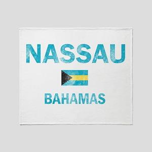 Nassau, Bahamas Designs Throw Blanket