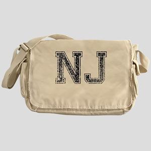 NJ, Vintage Messenger Bag