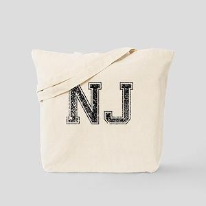 NJ, Vintage Tote Bag