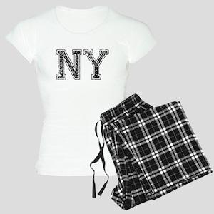 NY, Vintage Women's Light Pajamas
