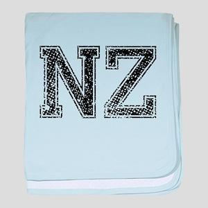 NZ, Vintage baby blanket