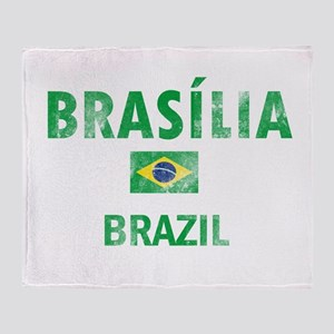 Brasilia Brazil Designs Throw Blanket