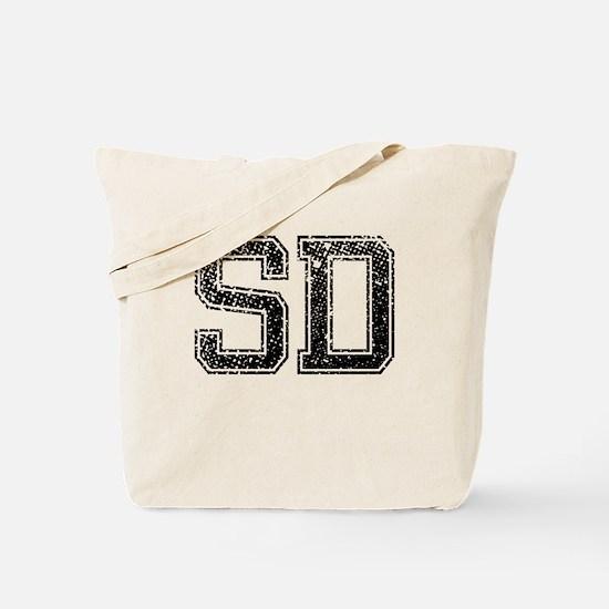 SD, Vintage Tote Bag