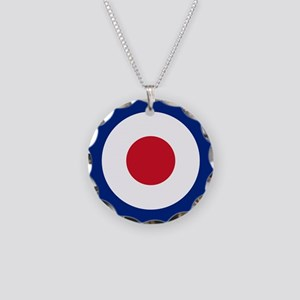 United Kingdom Roundel Necklace Circle Charm