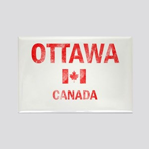 Ottawa Canada Designs Rectangle Magnet