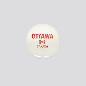 Ottawa Canada Designs Mini Button