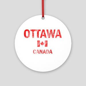 Ottawa Canada Designs Ornament (Round)