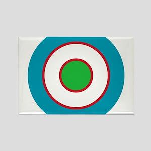 Uzbekistan Roundel Rectangle Magnet