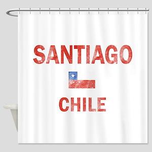Santiago Chile Designs Shower Curtain