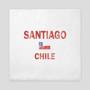 Santiago Chile Designs Queen Duvet