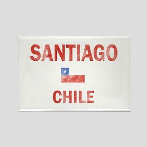 Santiago Chile Designs Rectangle Magnet