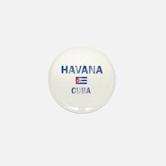 Havana Cuba Designs Mini Button