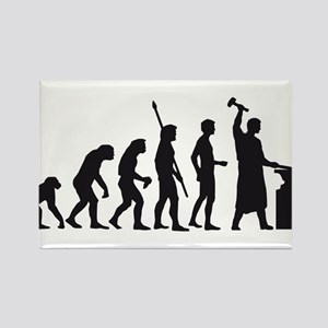 evolution blacksmith Rectangle Magnet