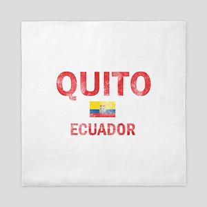 Quito Ecuador Designs Queen Duvet