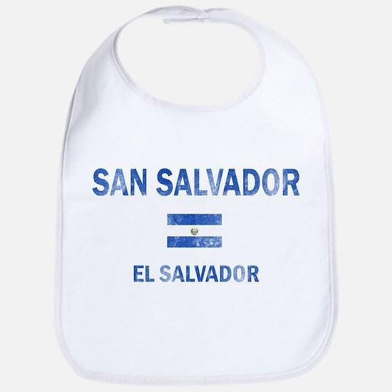San Salvador El Salvador Designs Bib