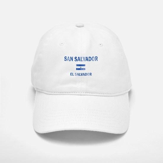 San Salvador El Salvador Designs Baseball Baseball Cap