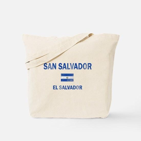 San Salvador El Salvador Designs Tote Bag