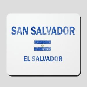 San Salvador El Salvador Designs Mousepad