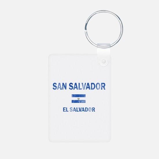 San Salvador El Salvador Designs Keychains