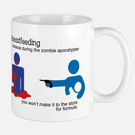 Breastfeeding Zombie Apocalypse Mug
