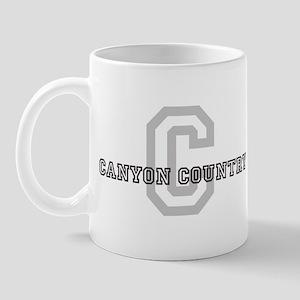 Canyon Country (Big Letter) Mug