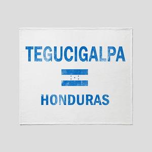 Tegucigalpa Honduras Designs Throw Blanket