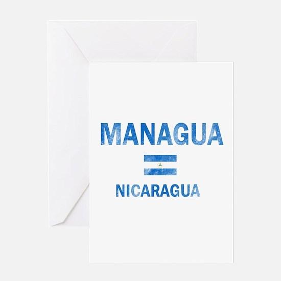 Managua Nicaragua Designs Greeting Card