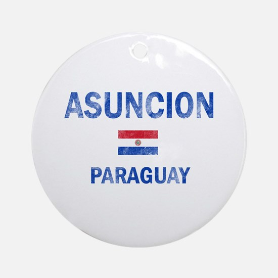 Asuncion Paraguay Designs Ornament (Round)