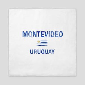 Montevideo Uruguay Designs Queen Duvet