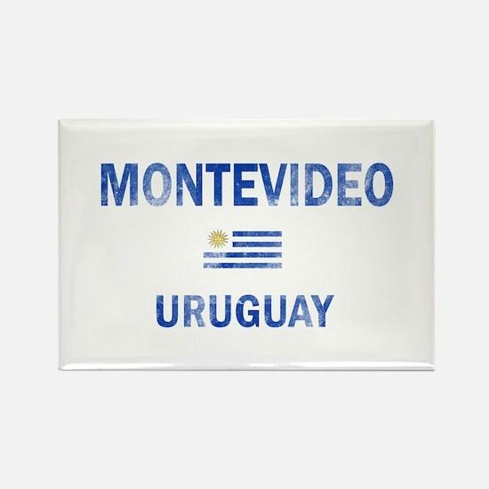 Montevideo Uruguay Designs Rectangle Magnet