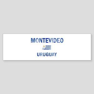 Montevideo Uruguay Designs Sticker (Bumper)