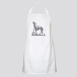 Wolf Flames Apron