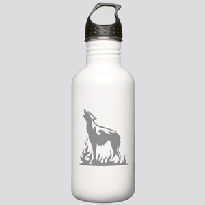 Wolf Flames Stainless Water Bottle 1.0L