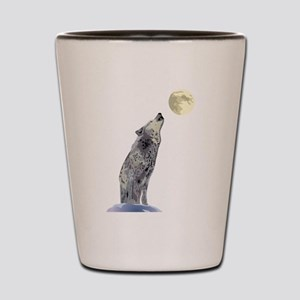 Howling Wolf Shot Glass