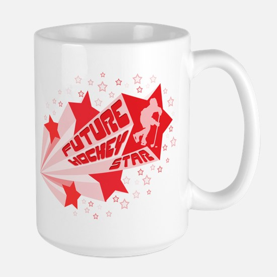 Future Hockey Star Large Mug