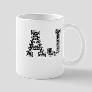AJ, Vintage Mug