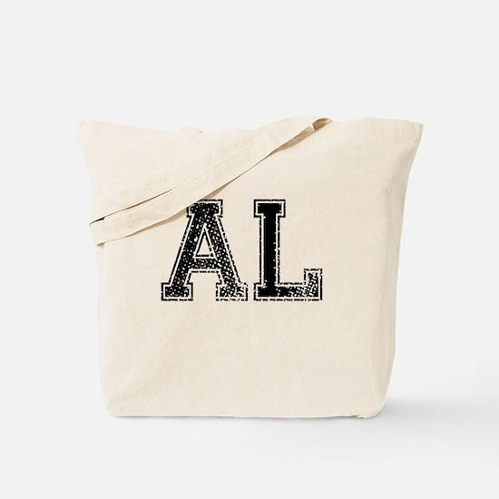 AL, Vintage Tote Bag