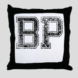 BP, Vintage Throw Pillow