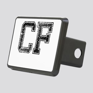 CF, Vintage Rectangular Hitch Cover